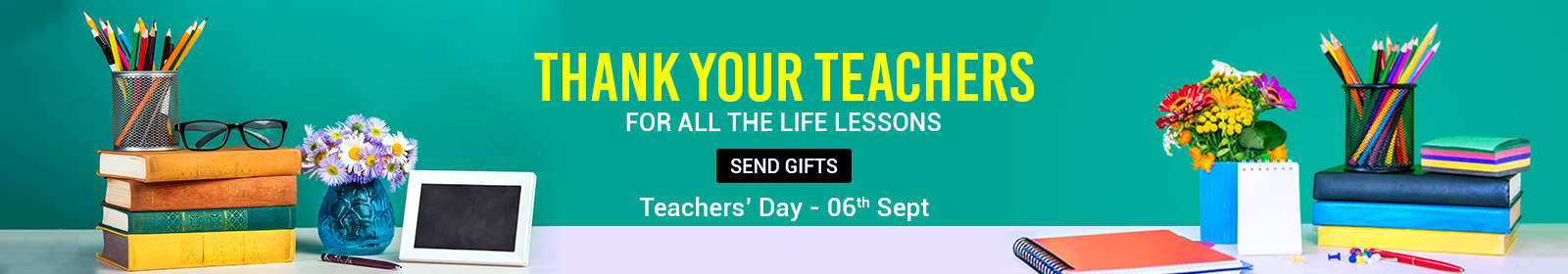 Send Teacher's Day Gifts To Singapore